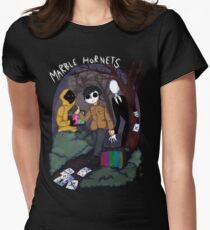 Marble Hornets Women's Fitted T-Shirt