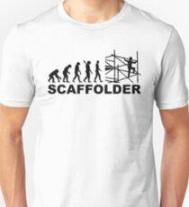 Evolution scaffolder Unisex T-Shirt