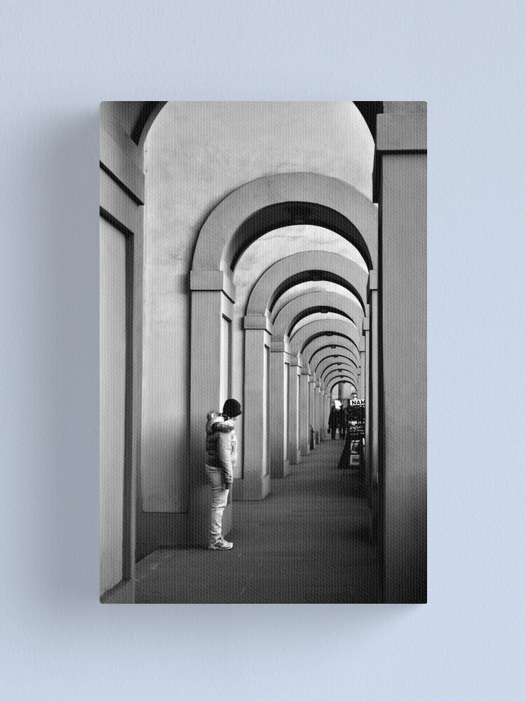 Alternate view of She Waits Canvas Print