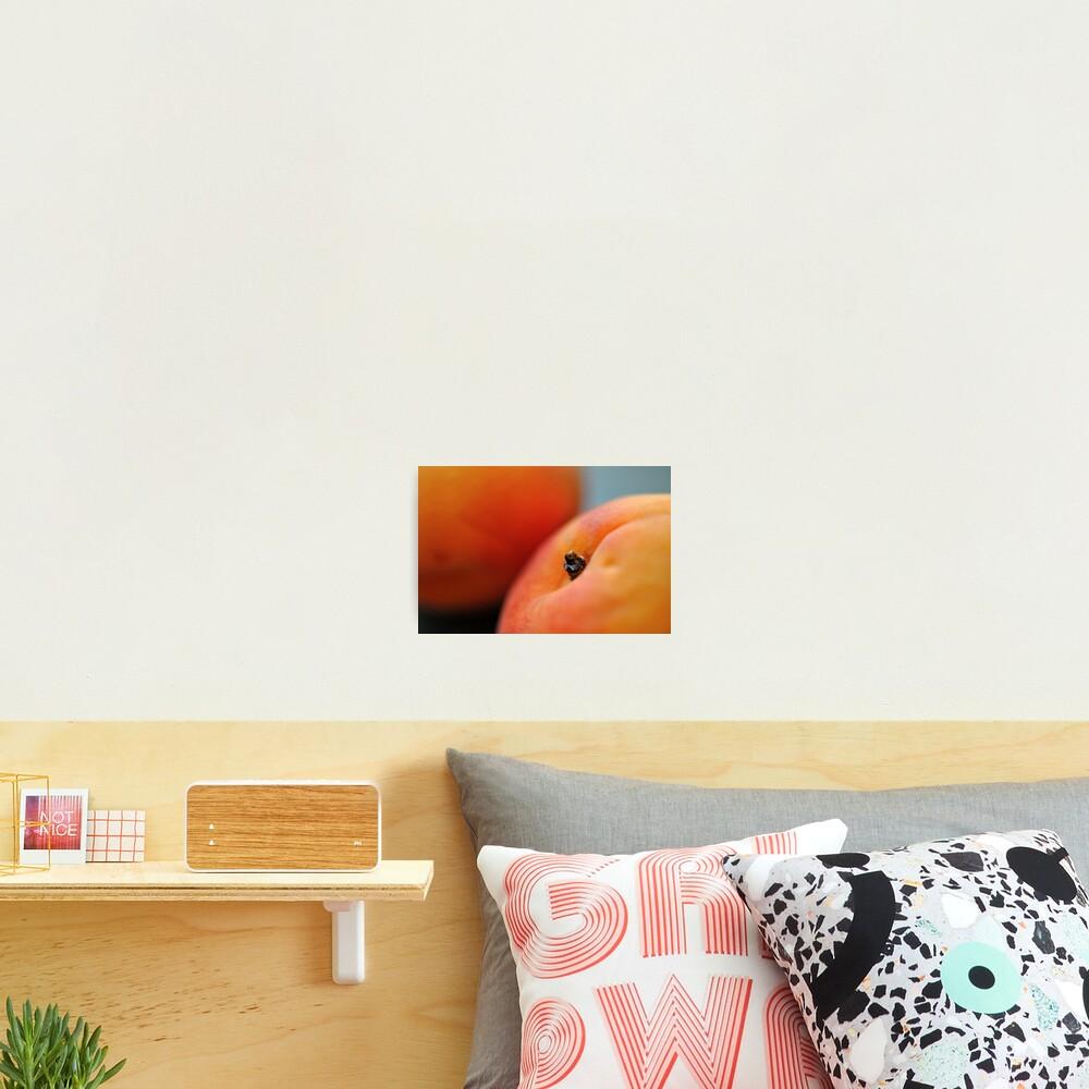 Peachy Photographic Print