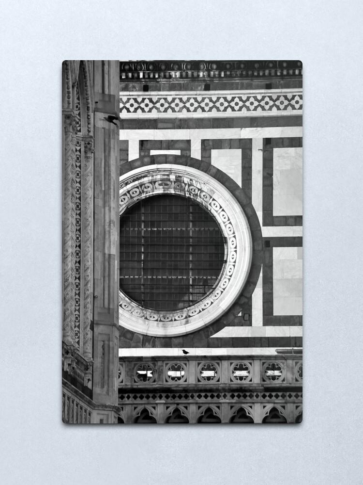 Alternate view of Duomo Detail, Florence Metal Print
