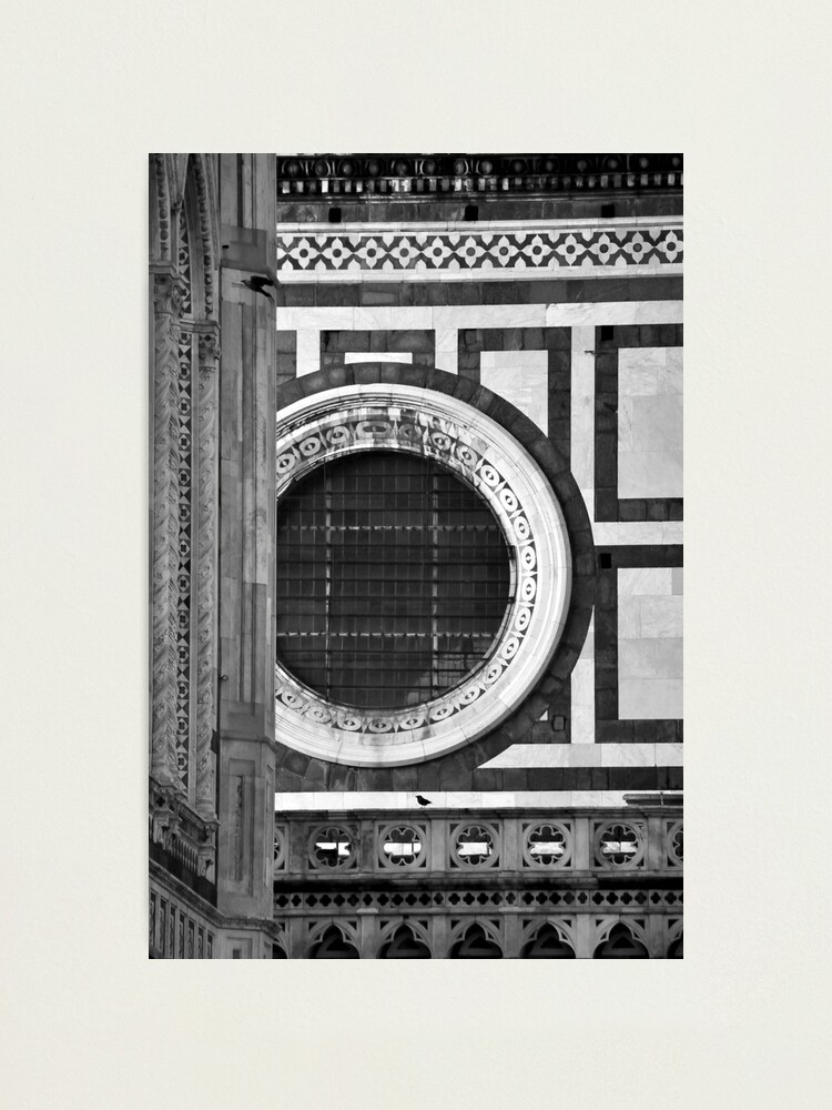 Alternate view of Duomo Detail, Florence Photographic Print
