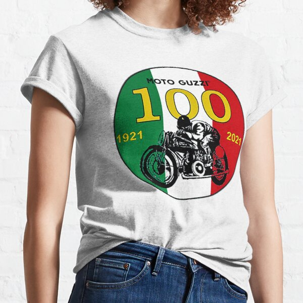 Moto Guzzi 100 ans T-shirt classique