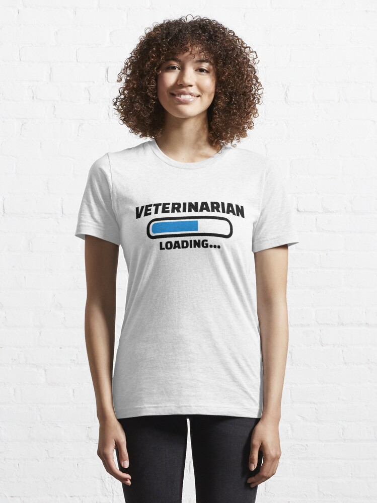 Alternate view of Veterinarian loading Essential T-Shirt