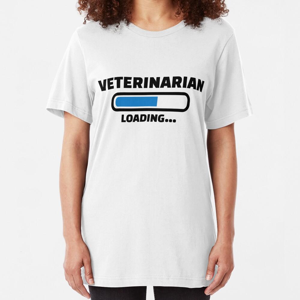 Carga de veterinario Camiseta ajustada