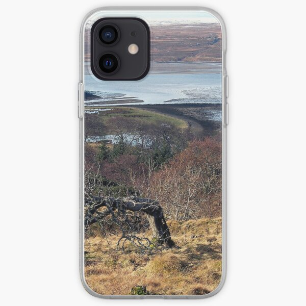 Castle Varrich on the Kyle of Tongue iPhone Soft Case