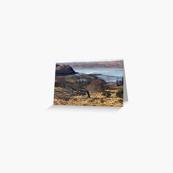 Castle Varrich on the Kyle of Tongue Greeting Card