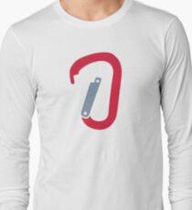 Rock climbing carabiner T-Shirt