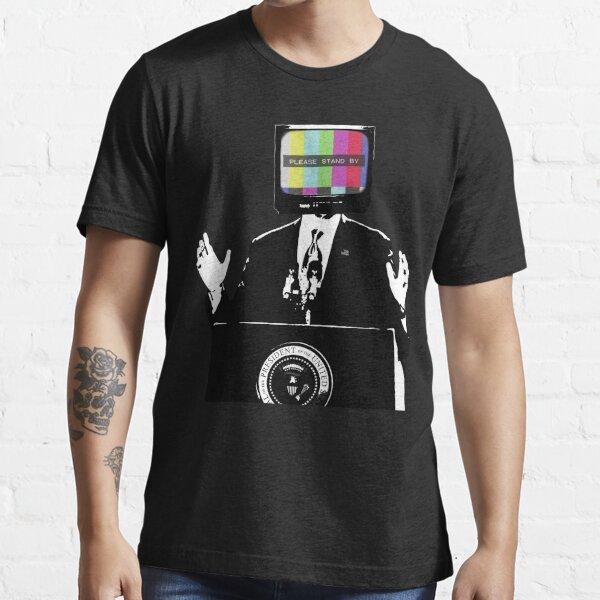 La Television controla la nacion Camiseta esencial