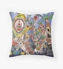 vibe of the tribe Throw Pillow