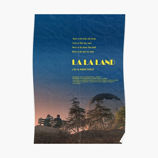 Lala Land Poster Poster