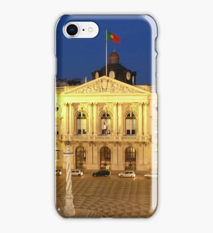Lisbon Town Hall. Portugal iPhone Case/Skin