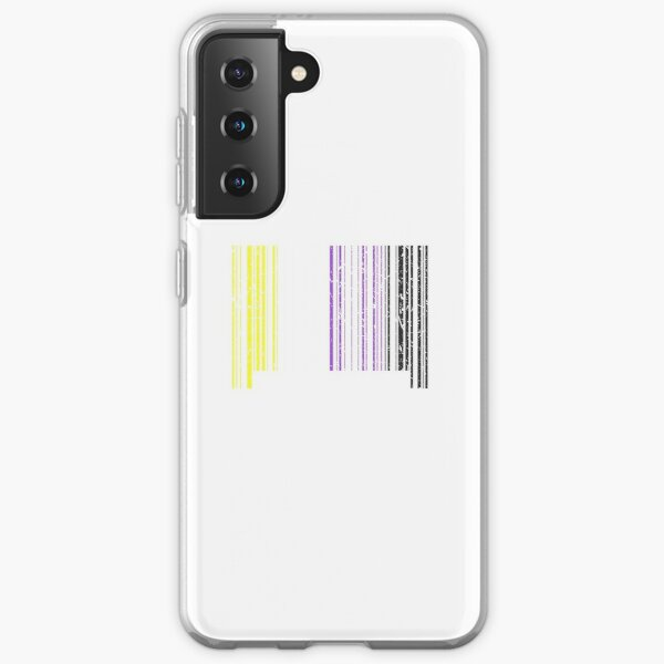 Assume Nothing Nonbinary Flag Genderqueer LGBTQIA Pride Nice Gift Samsung Galaxy Soft Case