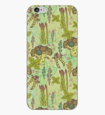 Green vegetables pattern. iPhone Case