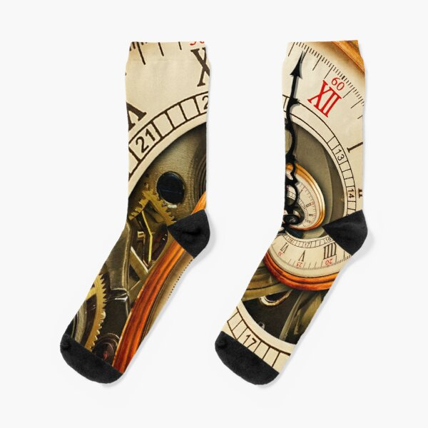 The Clock of the Spiral Whirlpool of Time. Socks