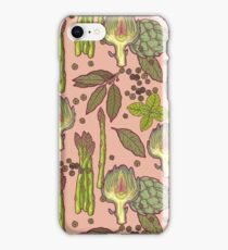 spring asparagus iPhone Case/Skin