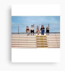 The Perks of Being a Wallflower Cast Canvas Print