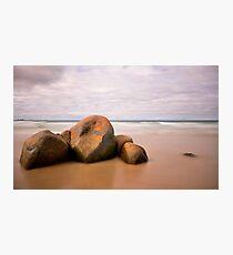 Beer Barrel Beach Photographic Print
