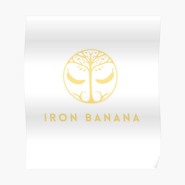 Iron Banana Funny PVP Crucible Nettes Geschenk Poster