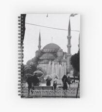 Blue Mosque Spiral Notebook