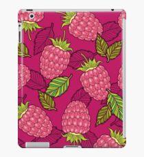 Pink raspberries iPad Case/Skin