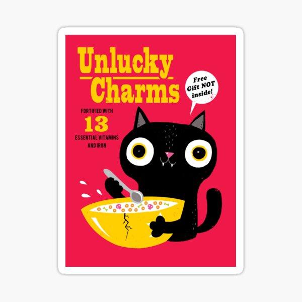 Unlucky Charms Sticker