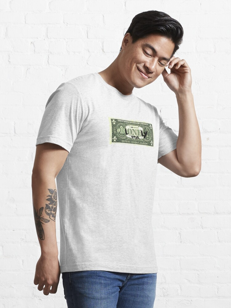 Alternate view of Lonely Star Dollar Bill Essential T-Shirt