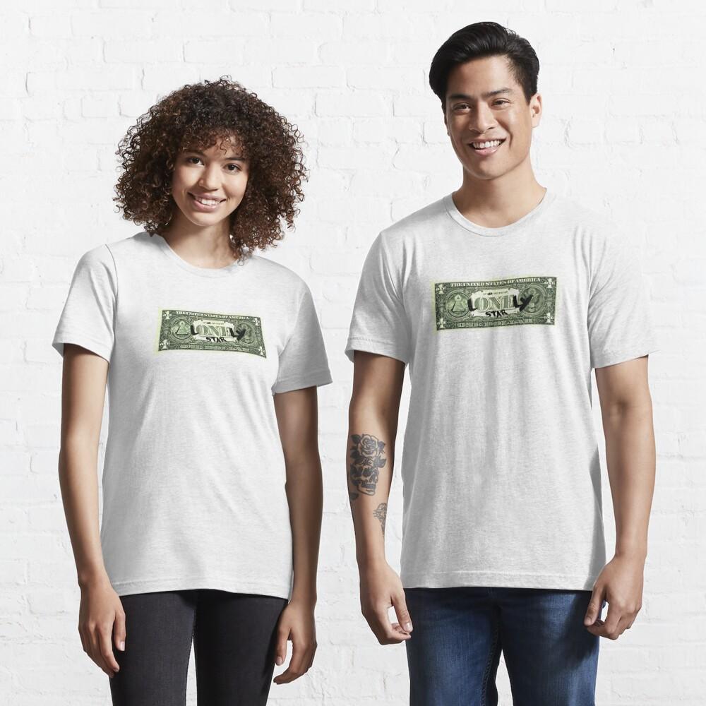 Lonely Star Dollar Bill Essential T-Shirt