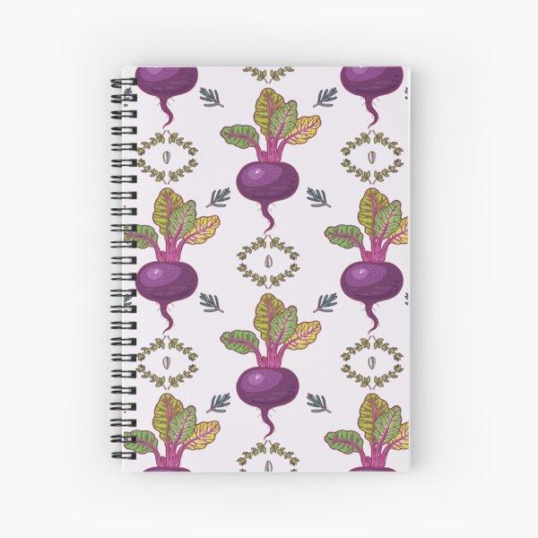 beet power Spiral Notebook