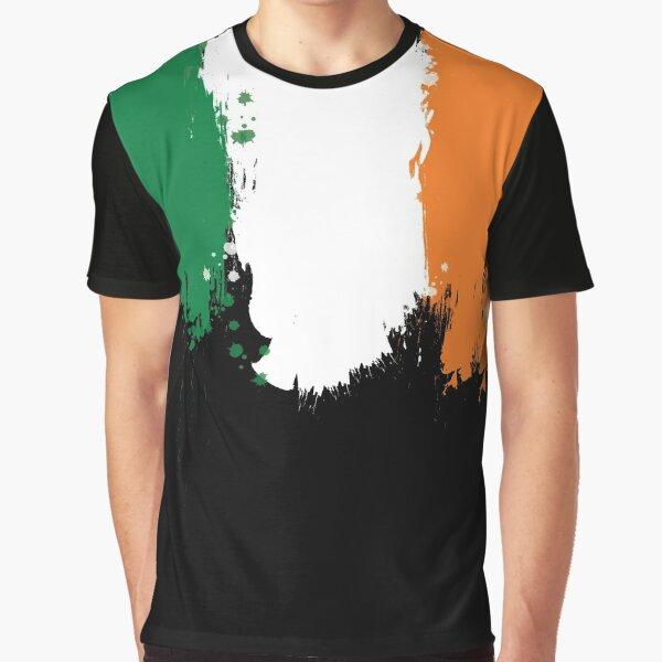Ireland - Paint Splatter Graphic T-Shirt