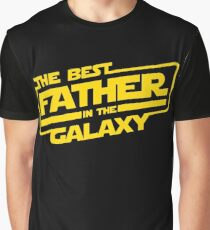 The Best Father In The Galaxy Graphic T-Shirt