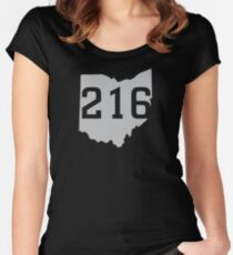 216 Pride Women's Fitted Scoop T-Shirt