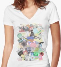 Ultimate Sherlock  Women's Fitted V-Neck T-Shirt