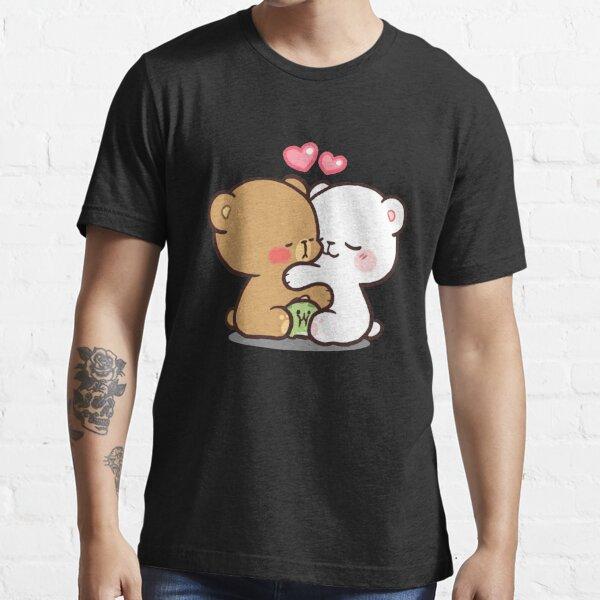 Lait et moka ours t-shirts classiques cadeau pour les fans, pour hommes et femmes, cadeau fête des mères, fête des pères T-shirt essentiel
