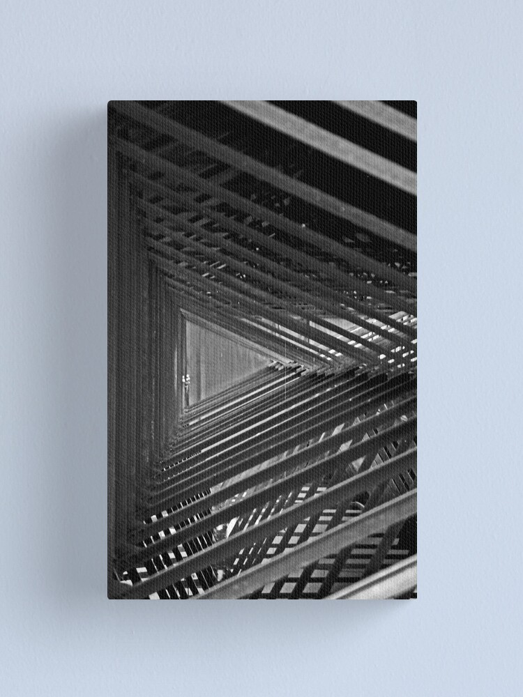 Alternate view of And so on and so forth Canvas Print