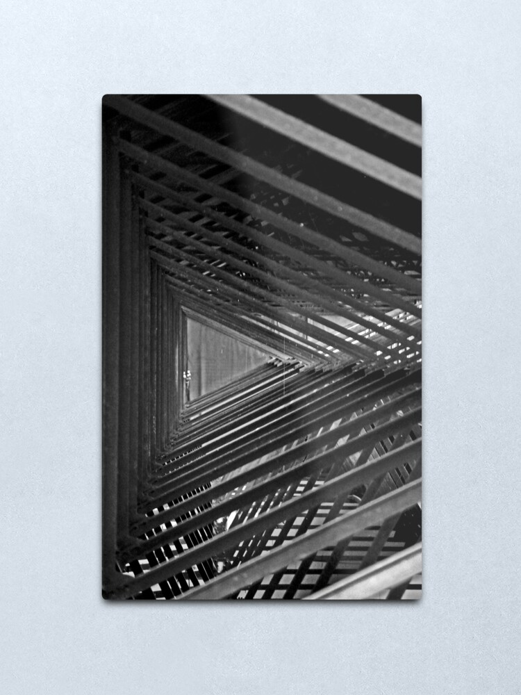 Alternate view of And so on and so forth Metal Print