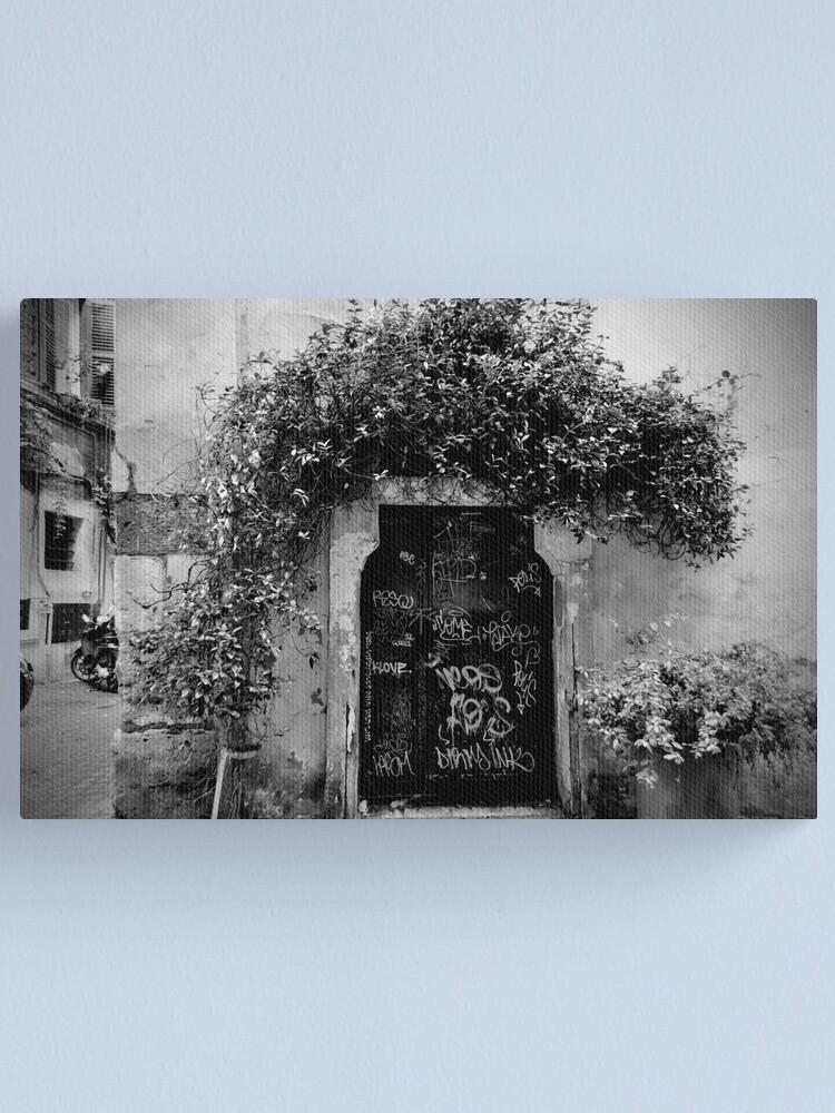 Alternate view of Trastevere Door Canvas Print