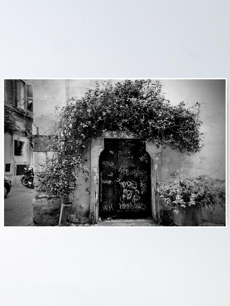 Alternate view of Trastevere Door Poster