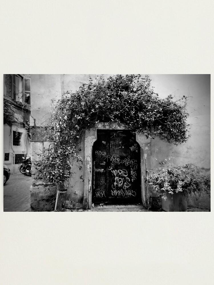 Alternate view of Trastevere Door Photographic Print