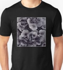 Flowers | Black Hydrangea | Flower | T-Shirt