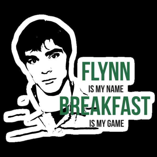Flynn Loves Breakfast by crashin