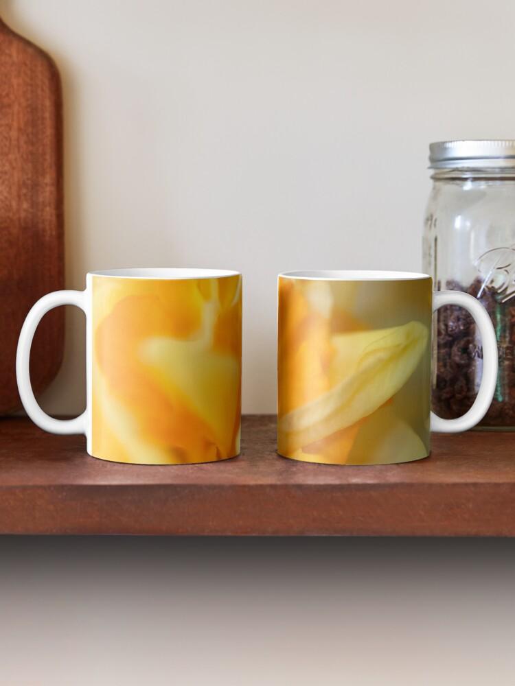 Alternate view of Double Daffodil Mug