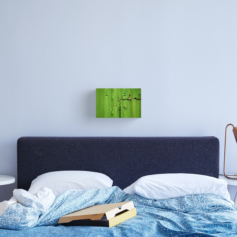 Green Section Canvas Print