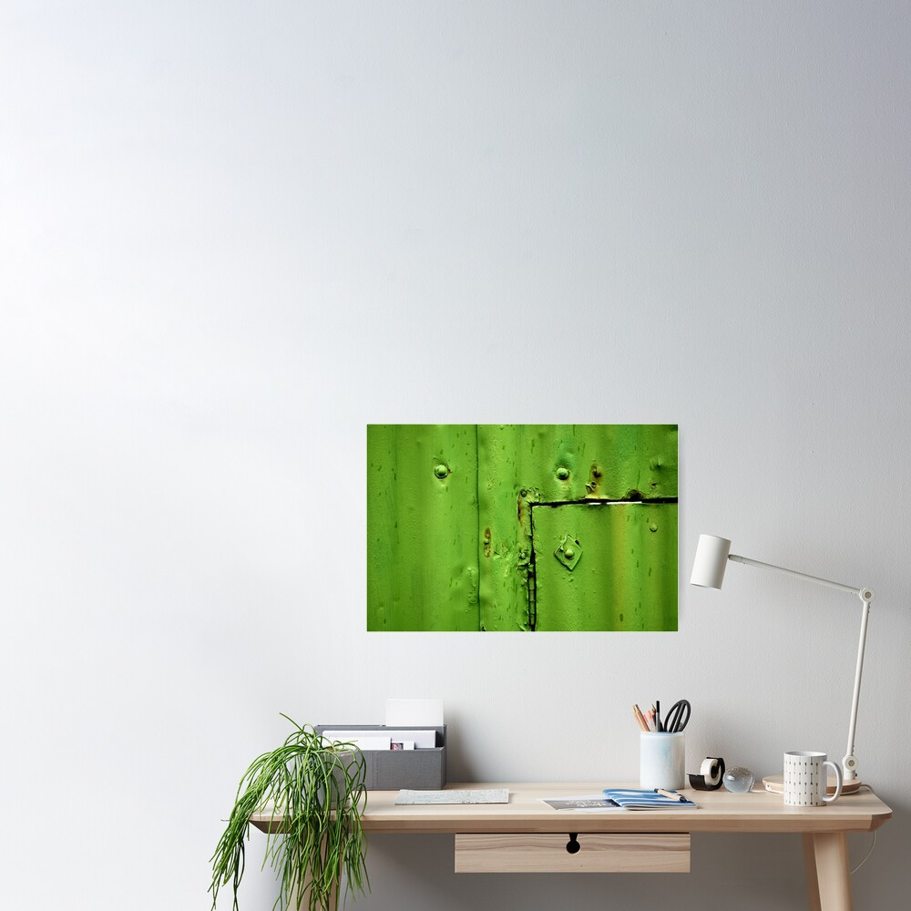 Green Section Poster