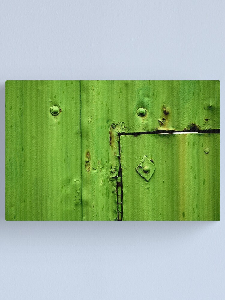 Alternate view of Green Section Canvas Print