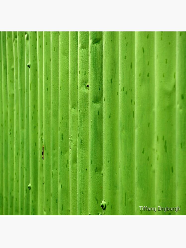 Green Ripples by Tiffany