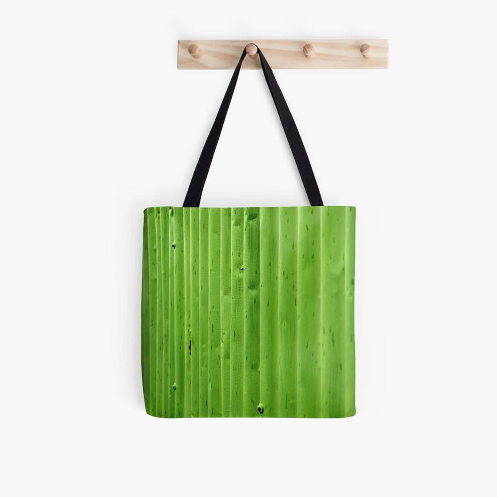 Green Ripples Tote Bag