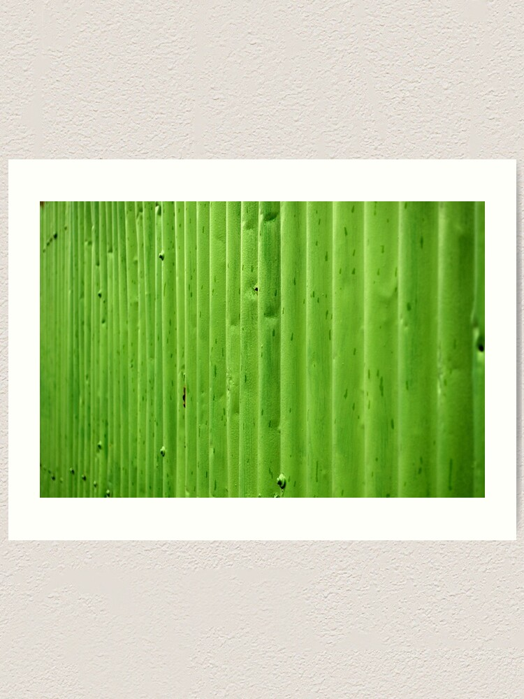 Alternate view of Green Ripples Art Print