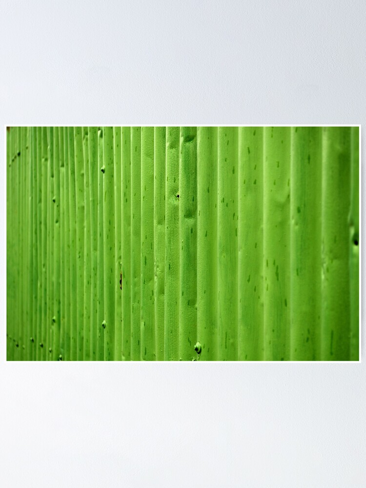 Alternate view of Green Ripples Poster