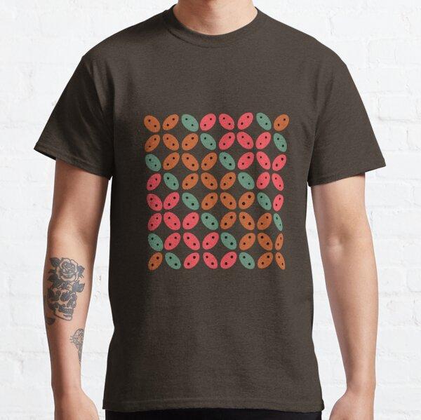 Modern Colorful Batik Kawung Classic T-Shirt